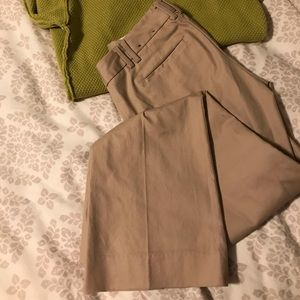 Petite Khakis Banana Republic Pants Slacks